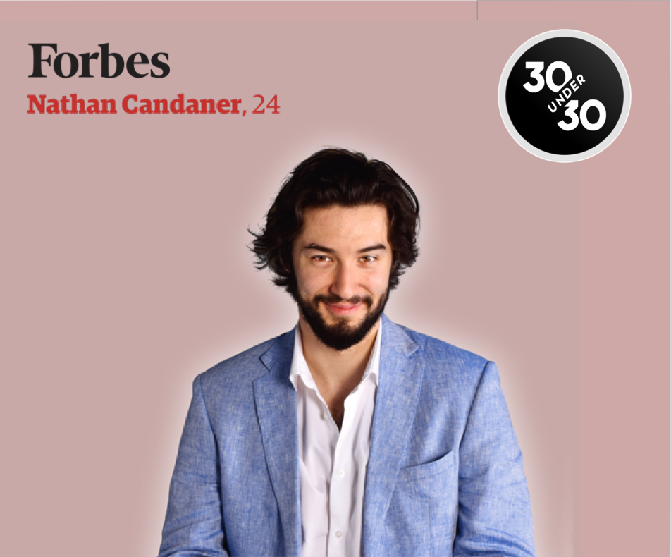 JobzMall CEO Nathan Candaner honored Forbes '30 under 30'